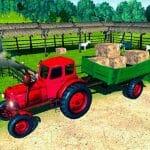 Farmer Tractor Cargo Simulation