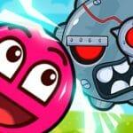 Roller Ball 3: Red Bounce Ball Love Adventure